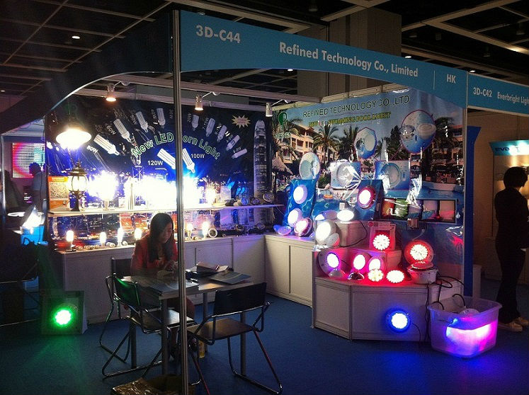 We attend the HK Lighting fair on 27-30th ,Oct ,2013