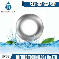 10W COB 316L SS Resin filled Wall Mounted LED Pool Light