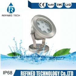 Stainless Steel LED Fountain Underwater Pool Light
