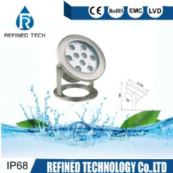 St/St LED Fountain Underwater Pool Light