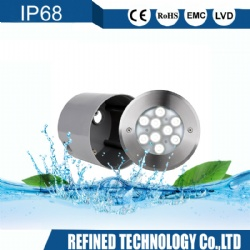 IP68 Stainless Steel Reccessed LED light